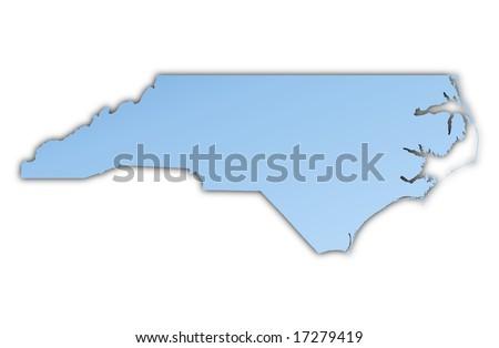 Quotnorth Carolina Contourquot Stock Images RoyaltyFree - North carolina usa map
