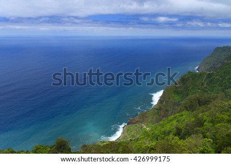 North coast of Madeira Island, Portugal, Europe