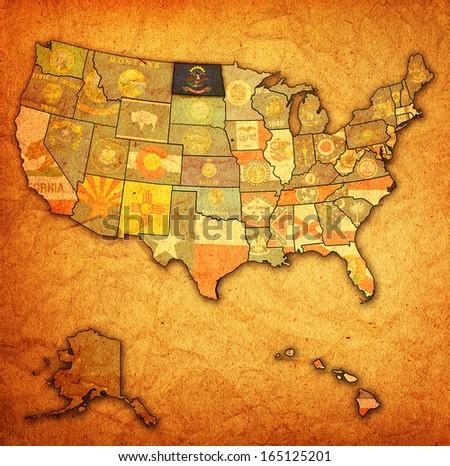 North Dakota Map Stock Images RoyaltyFree Images Vectors - North dakota us map