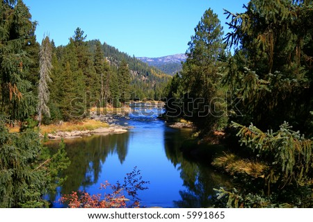 North fork of the Payette river, central Idaho