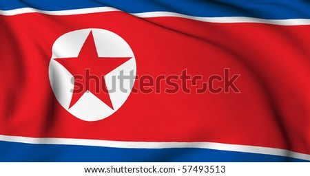 North Korea flag World flags Collection