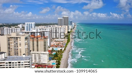 North Miami Beach, Florida, USA - stock photo