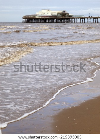 North pier,Blackpool - stock photo