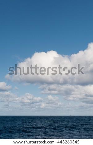 North Sea Clouds - stock photo