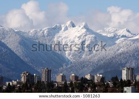 North Vancouver - stock photo