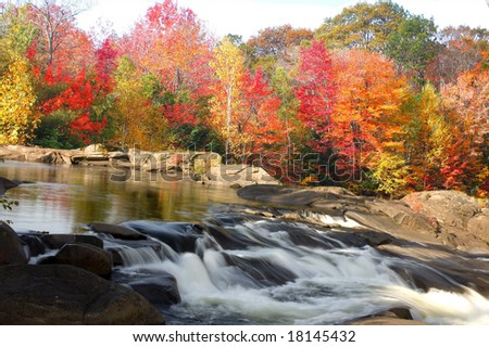 northern ontario scenic - stock photo
