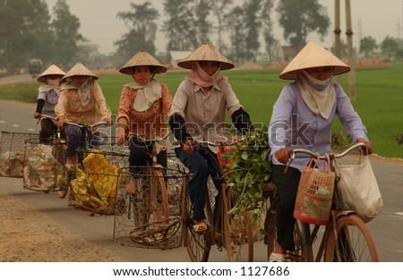 Northern Vietnam - stock photo