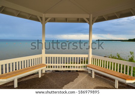 Northport Evening - stock photo