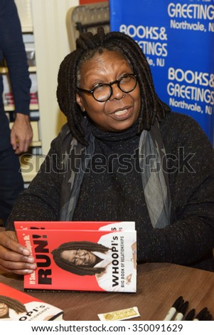 NORTHVALE, NJ-NOVEMBER 11: Whoopi Goldberg appears at a book signing on November 11, 2015 at Books and Greetings in Northvale, NJ.