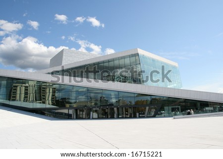 Norway,s new opera-house