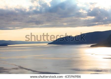 Norway sea - stock photo