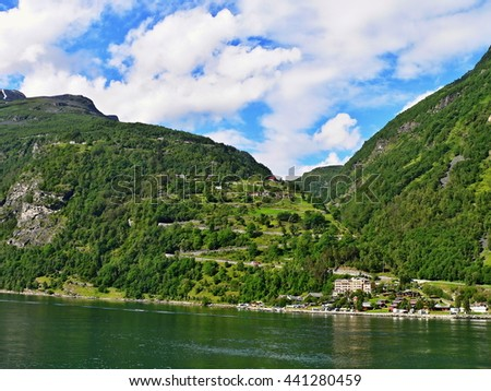 Norway-view on the Geiranger