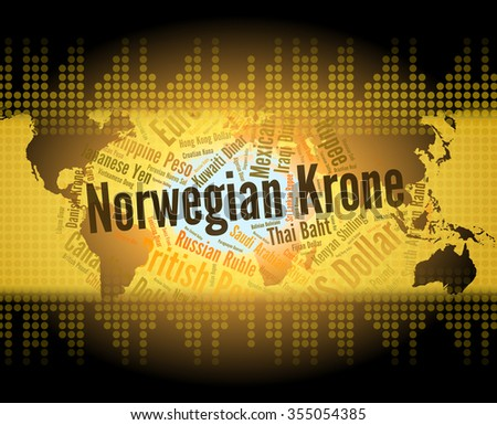 Norwegian Krone Representing Currency Exchange And Fx