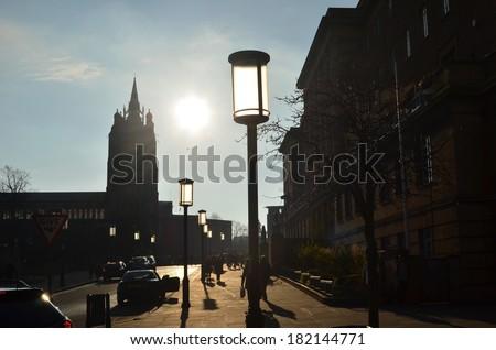 Norwich City Scene - stock photo