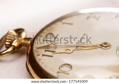 Nostalgic Pocket Watch - stock photo