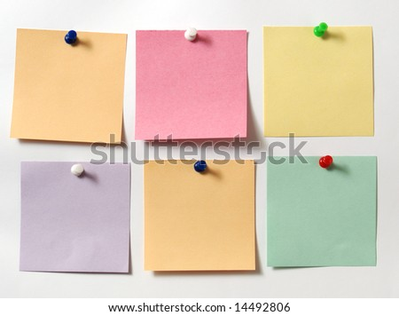 note - stock photo