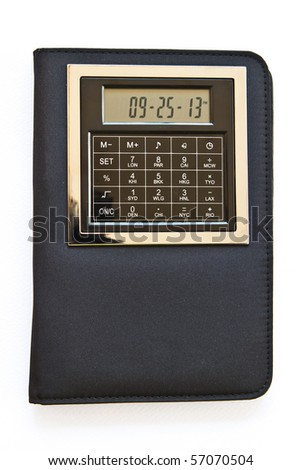 Note Book with Calculator , Pen