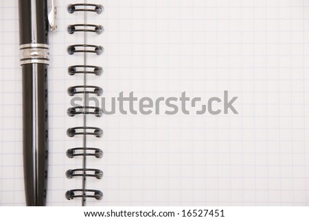 note-pad background - stock photo