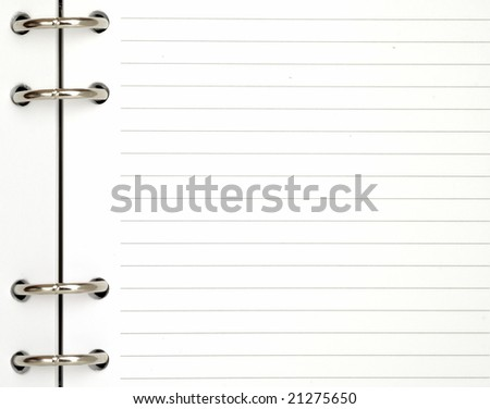 note pad background - stock photo