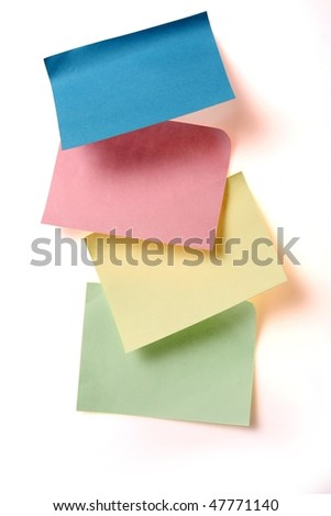 note paper - stock photo