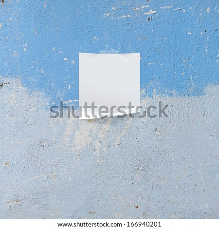 note paper tape on background - stock photo