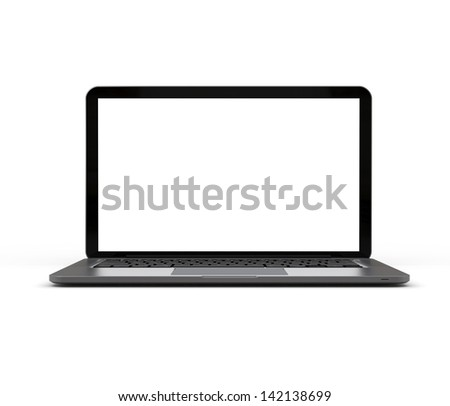 Notebook computer generated image