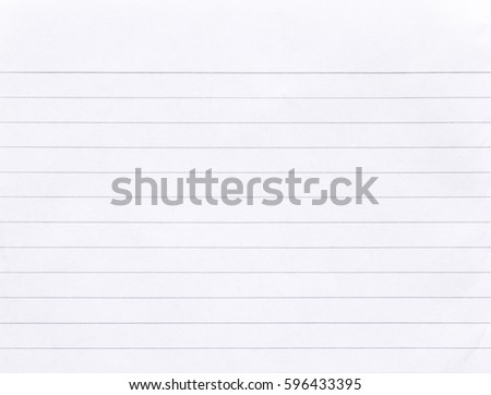 Notebook Lined Paper Background  Line Paper Background