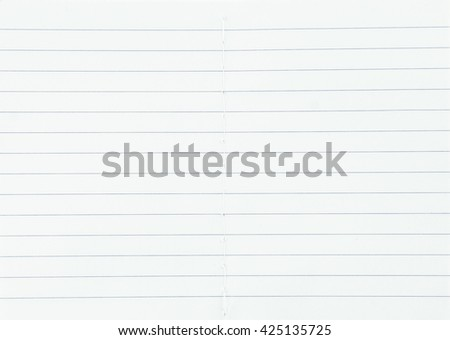 notebook paper texture - stock photo