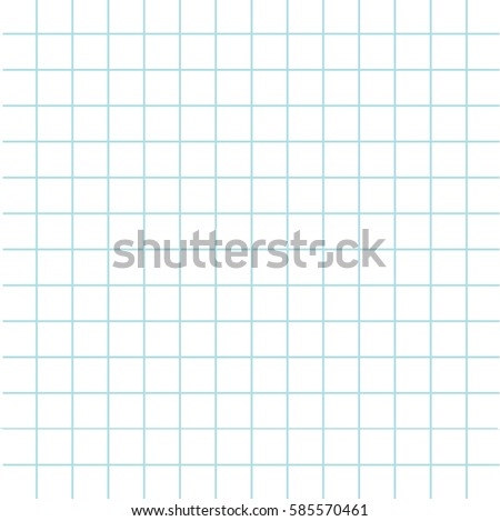 Notebook Paper Texture Cell Template Squared Stock Vector