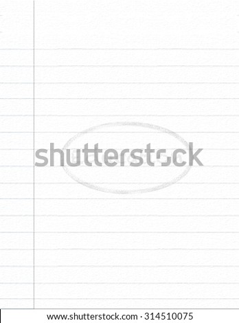 Notebook paper with Education watermark background - stock photo