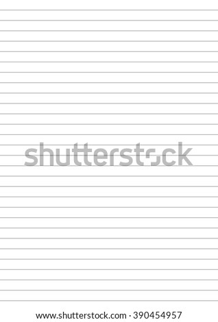 Notebook Paper One Centimeter Gray Line Stock Illustration