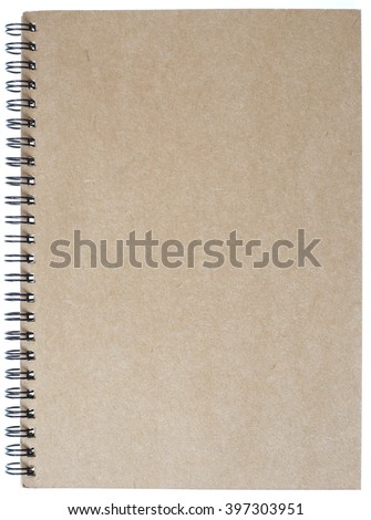 notebook with ring binder