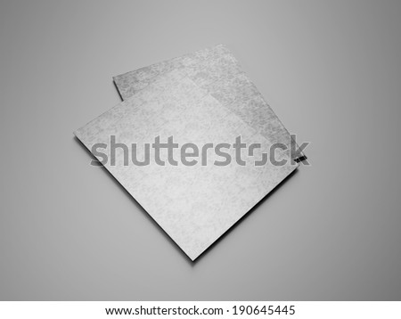 Notebooks with blank covers - stock photo