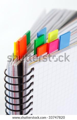 notepad - stock photo