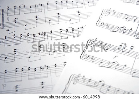 notes - stock photo