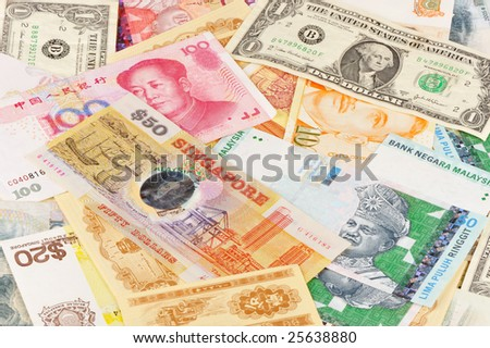 notes for different currencies