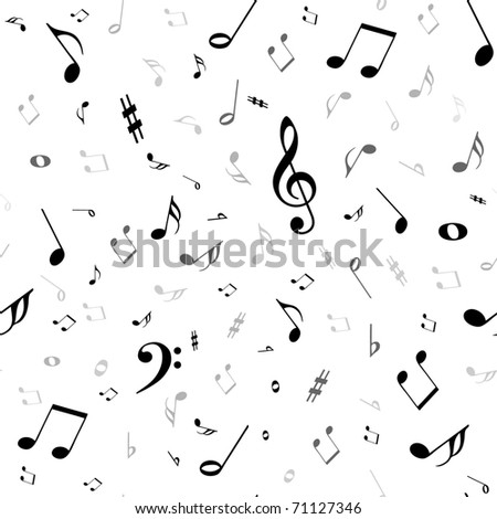 notes seamless background - stock photo