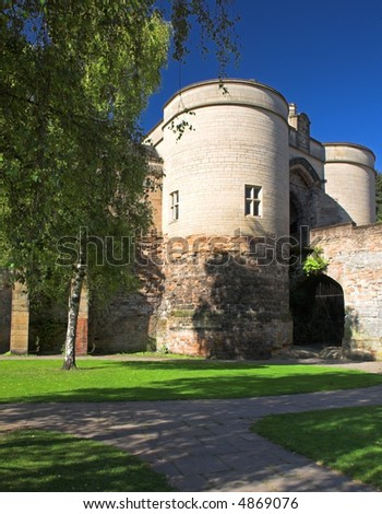 Nottingham Castle (Nottingham, England) - stock photo