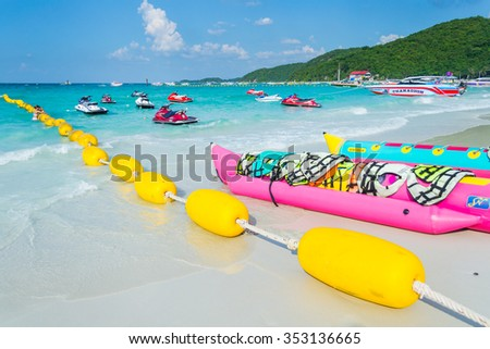 Nov 21, 2015 Koh Larn tourist places in the city. Located on the eastern shore of the Gulf Thailand,Thailand - stock photo