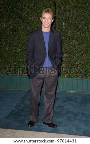 Nov 17, 2004; Los Angeles, CA: Actor MICHAEL WELCH at the 14th Annual Environmental Media Awards in Los Angeles.