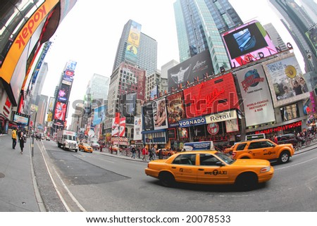 Nov 4, 2008 - The Election Day in Times Square in NYC, ABC and CNN planning major news events for the election night at the Times Square, The photo is geo-tagged for the location on Google Map.