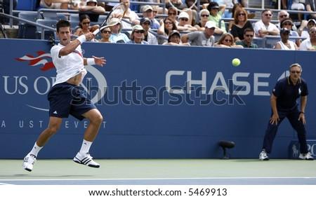 Novak Djokovic - stock photo