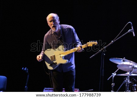 "NOVEMBER 3, 2013 - BERLIN: John Scofield - concert of ""The John Scofield Uberjam Band"", Jazzfest 2013, Berlin."