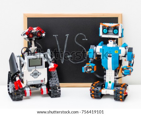 November 2017 Minsk Belarus Lego Boost Stock Photo 756419101 ...