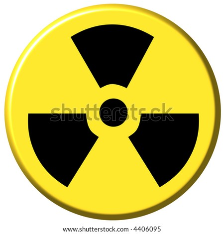 Nuclear Button - stock photo