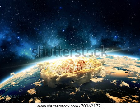 nuclear explosion stock images royaltyfree images