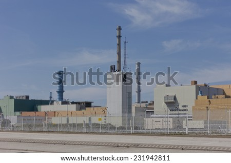 Nuclear fuel reprocessing plant - La Hague, Basse Normandy, France, Europe