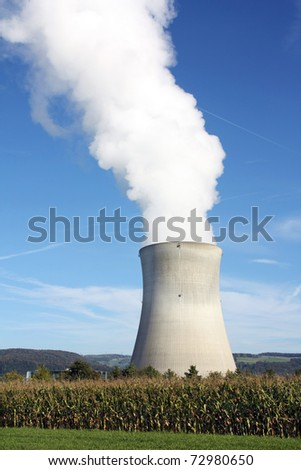 Nuclear power plant (also horizontal format in my gallery)
