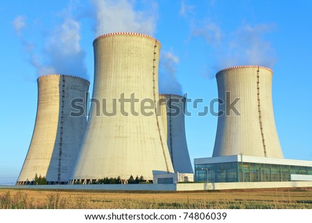 Nuclear power plant, Dukovany, Czech Republic