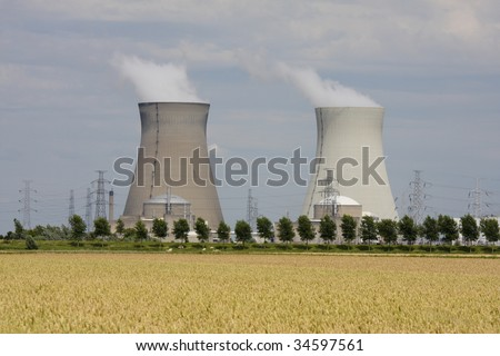Nuclear power plant in Doel, Belgium